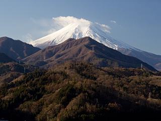 2012年1月5日の富士山写真