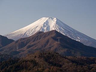 2012年1月8日の富士山写真