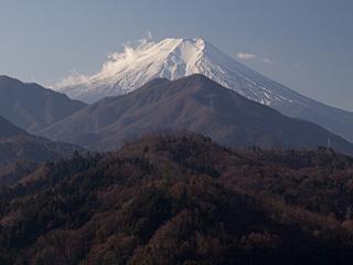 2012年1月9日の富士山写真