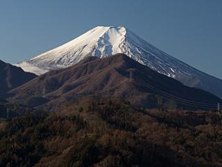 2012年1月12日の富士山写真