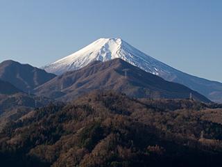 2012年1月13日の富士山写真