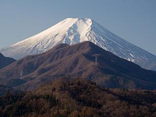 2012年1月14日の富士山写真