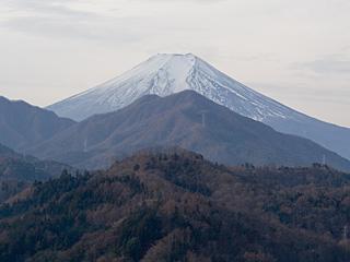2012年1月15日の富士山写真