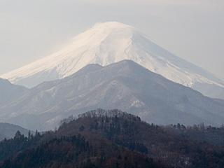 2012年1月18日の富士山写真