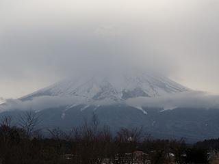 2012年1月19日の富士山写真