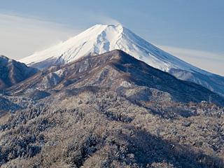 2012年1月25日の富士山写真