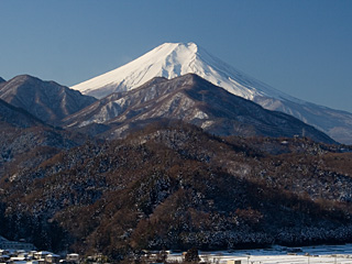 2012年1月26日の富士山写真