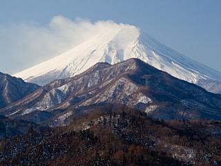 2012年1月27日の富士山写真