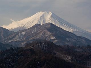 2012年1月28日の富士山写真