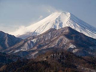 2012年1月29日の富士山写真