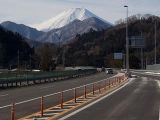 2012年1月30日の富士山写真