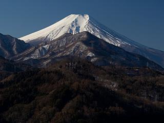2012年2月3日の富士山写真