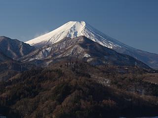 2012年2月4日の富士山写真
