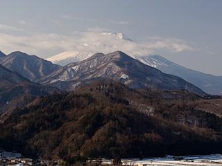 2012年2月5日の富士山写真
