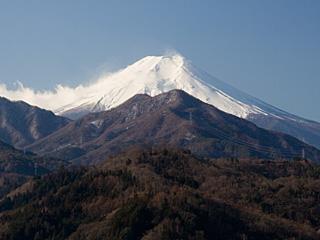 2012年2月8日の富士山写真