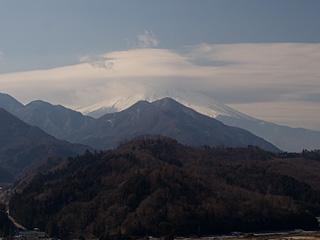 2012年2月13日の富士山写真