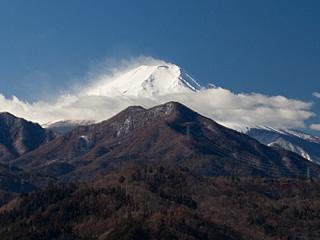2012年2月17日の富士山写真