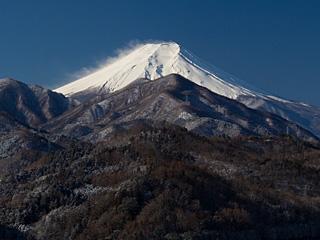 2012年2月18日の富士山写真