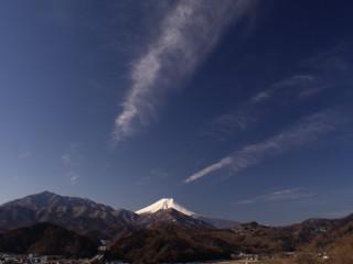 2012年2月19日の富士山写真