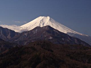 2012年2月20日の富士山写真