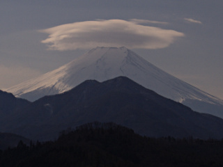 2012年2月21日の富士山写真