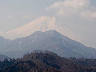 2012年2月22日の富士山写真