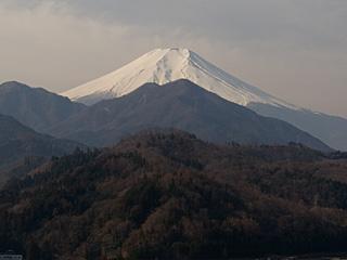2012年2月24日の富士山写真