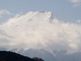 2012年2月27日の富士山写真
