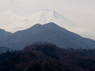 2012年2月28日の富士山写真