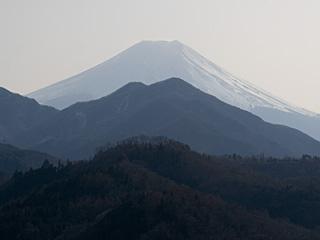 2012年3月6日の富士山写真