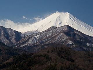 2012年3月12日の富士山写真