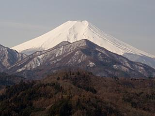 2012年3月16日の富士山写真