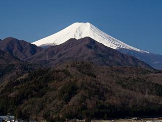 2012年3月27日の富士山写真
