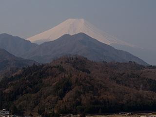 2012年3月28日の富士山写真