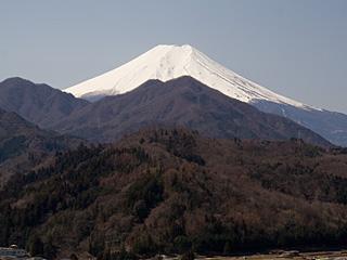 2012年3月29日の富士山写真