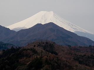 2012年3月30日の富士山写真