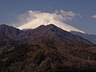 2012年4月4日の富士山写真