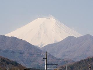 2012年4月5日の富士山写真
