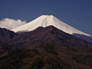 2012年4月7日の富士山写真