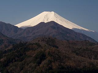 2012年4月9日の富士山写真