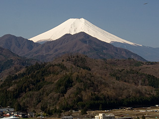 2012年4月12日の富士山写真