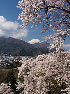 2012年4月18日の富士山写真