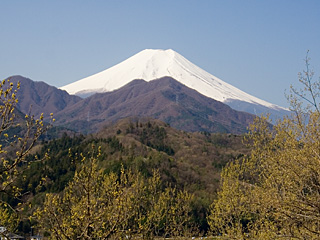 2012年4月24日の富士山写真