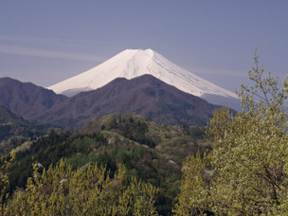 2012年4月28日の富士山写真