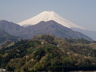 2012年4月29日の富士山写真