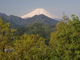 2012年5月7日の富士山写真