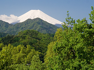 2012年5月11日の富士山写真