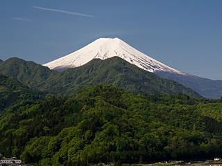 2012年5月13日の富士山写真