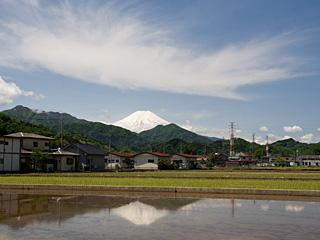 2012年5月23日の富士山写真