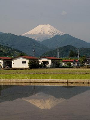 2012年5月24日の富士山写真